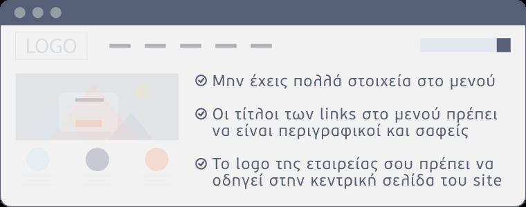 απαραίτητα στοιχεία για ένα site