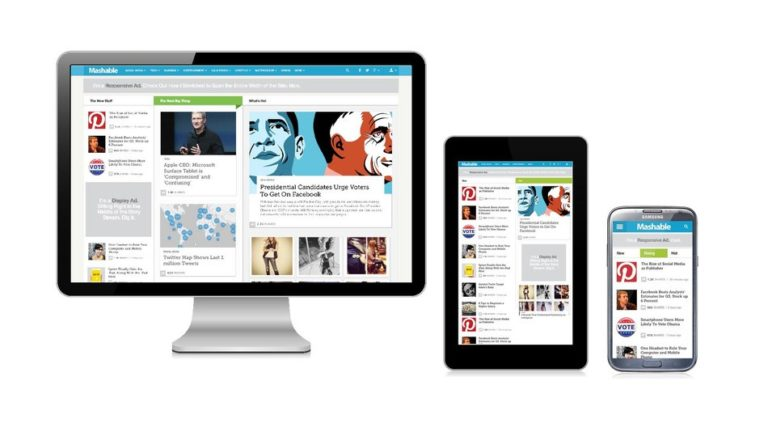 mashable responsive design